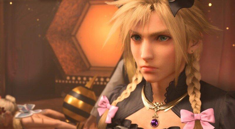 Final Fantasy VII Remake Almost Had Cloud Pole-Dancing At The HoneyBee Inn