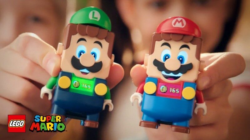 LEGO Super Mario Co-Op Shown Off In New Trailer With Mario And Luigi